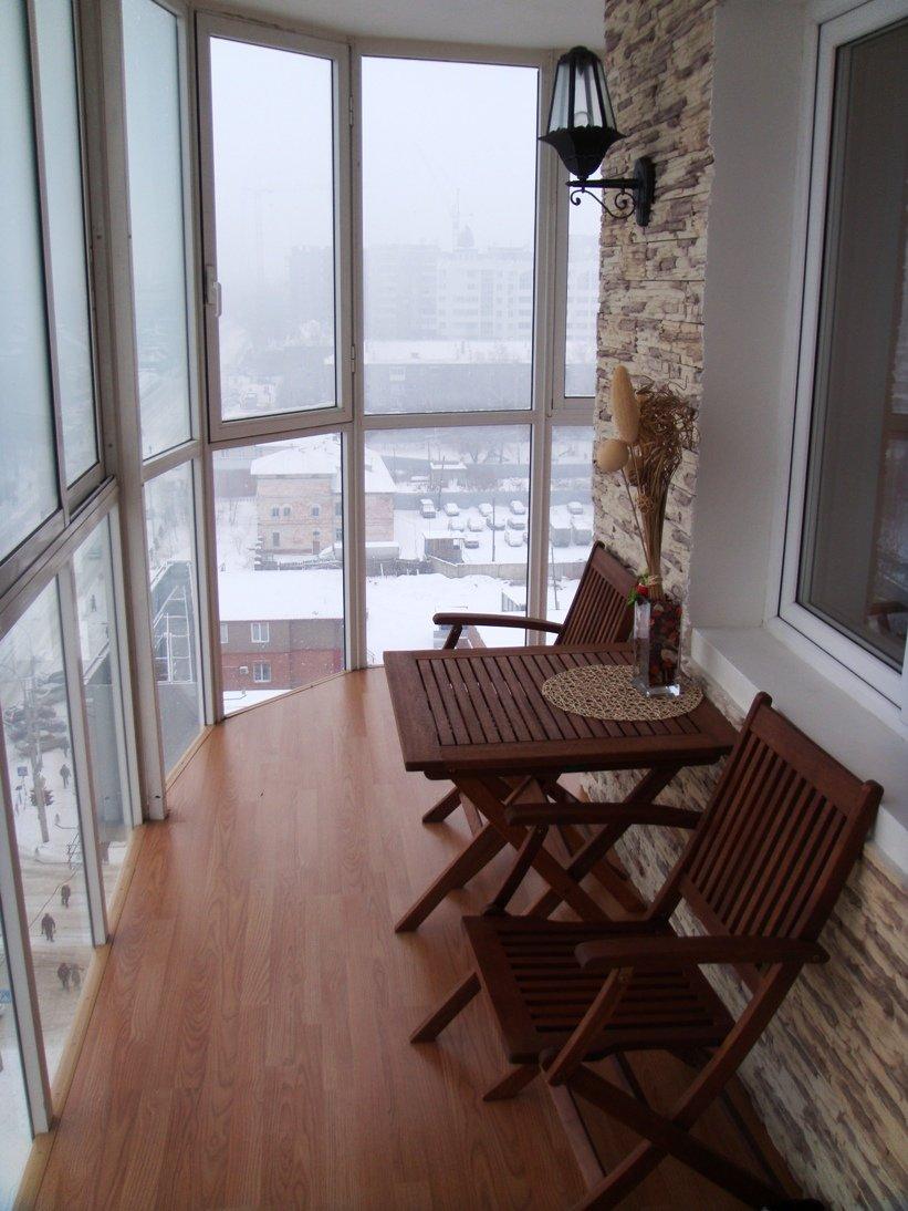 Деревянная мебель на балконе материалы для отделки балкона h.