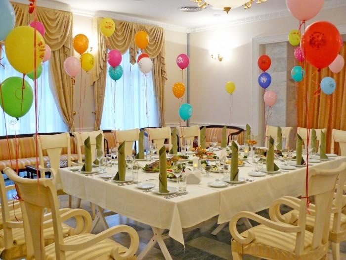 Как оформить зал для праздника