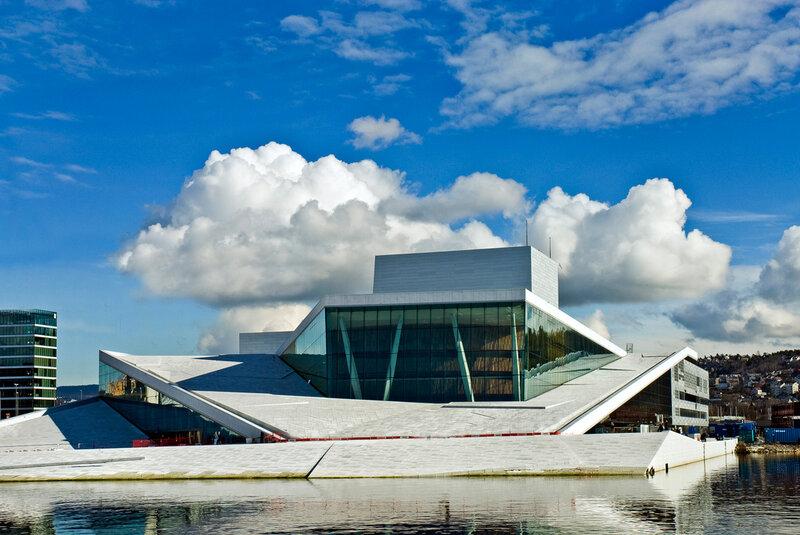Оперный театр Осло (Operahuset) – это национальный оперный театр в Норвегии