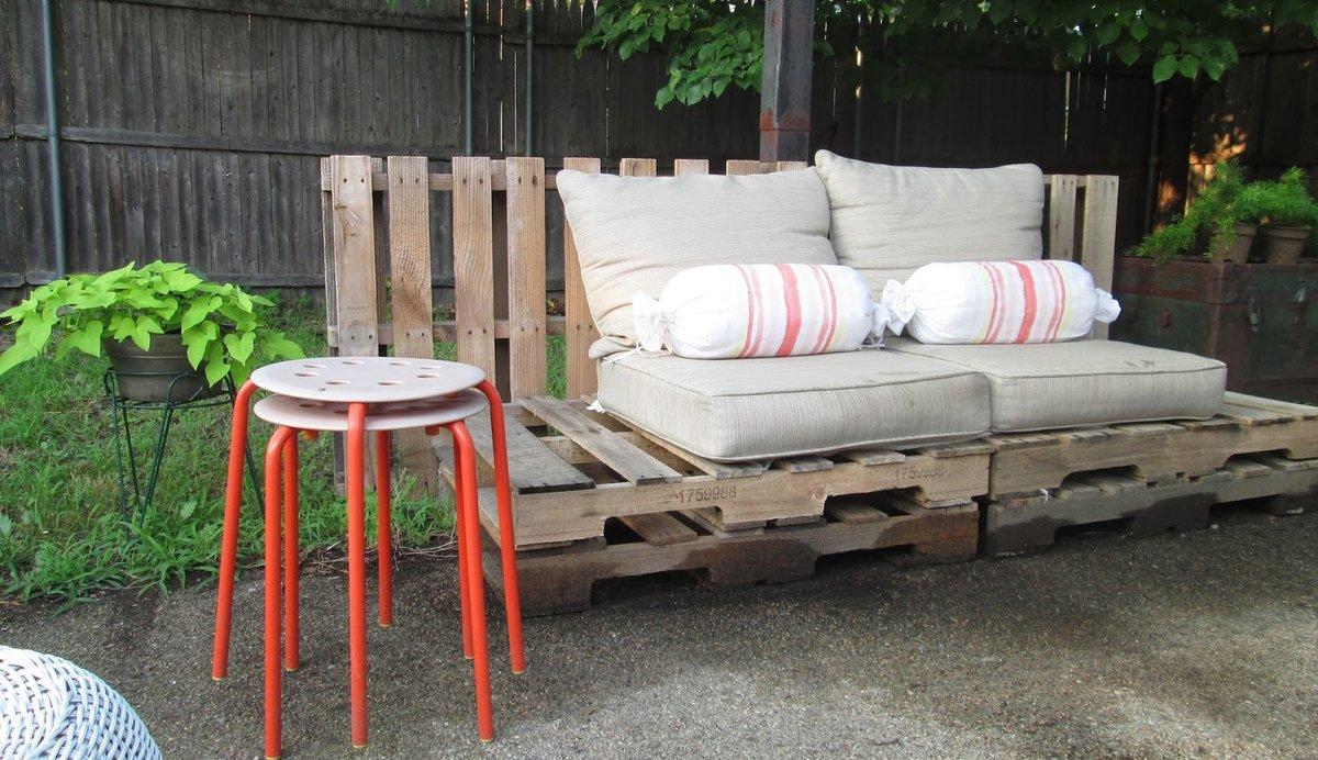 мебель для дачи из паллет своими руками можно убедиться деньги