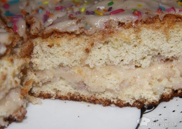 бисквит классический в духовке рецепт с фото