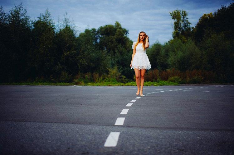 фотосессия на дороге летом арендует лучший