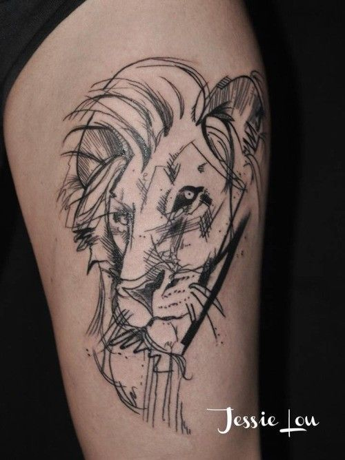 Discover Awesome Ideas About Lion Head Tattoo For Different Part Of