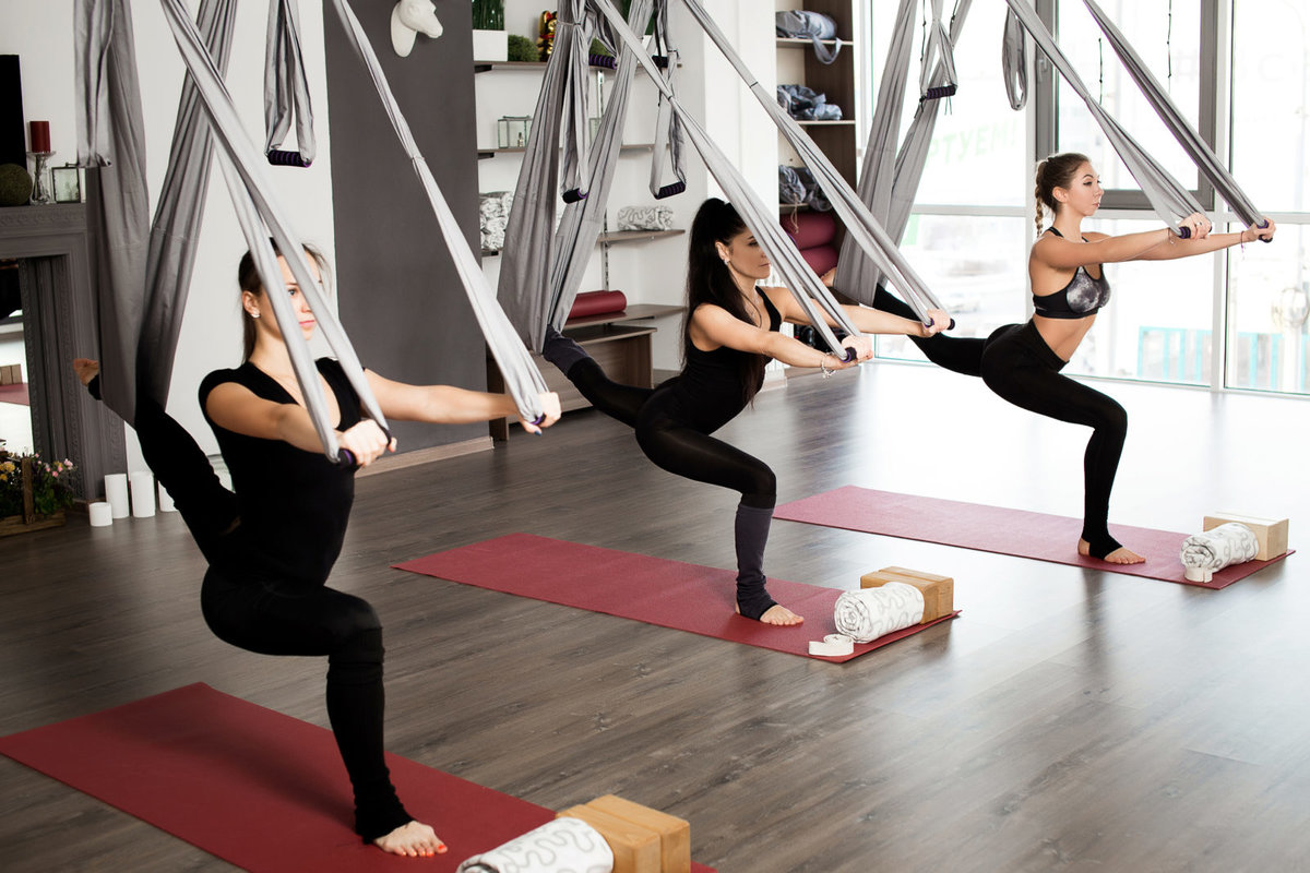 Флай йога похудение