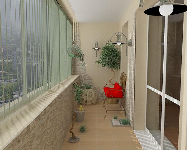 """Декорирование балкона своими руками шикардос"""" - карточка пол."""