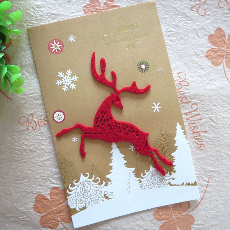 Как сделать открытки к новому году