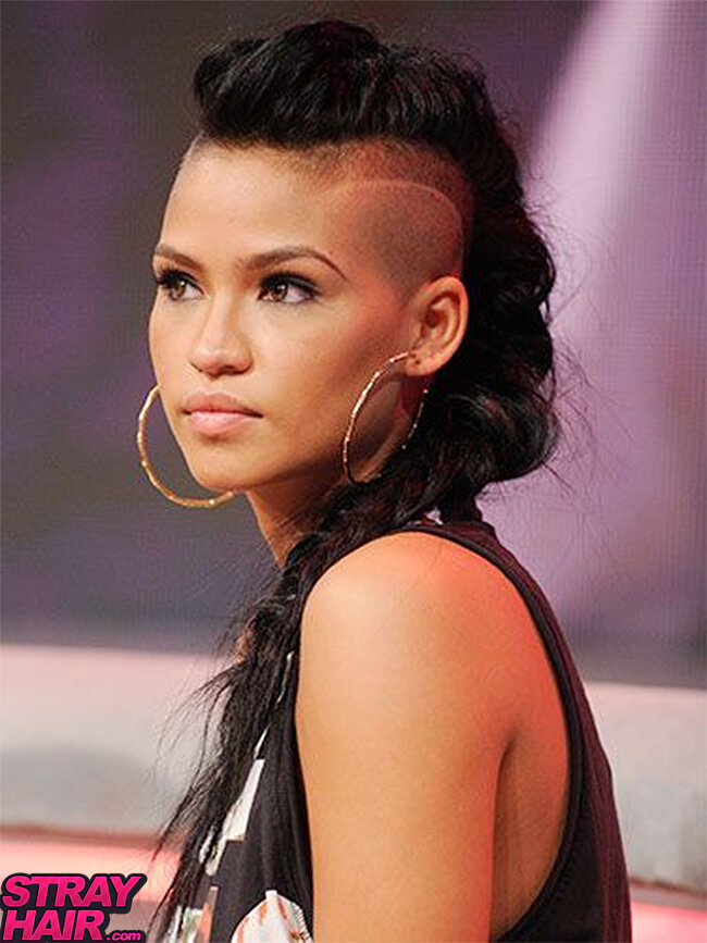Cassie shaved head pics — img 12