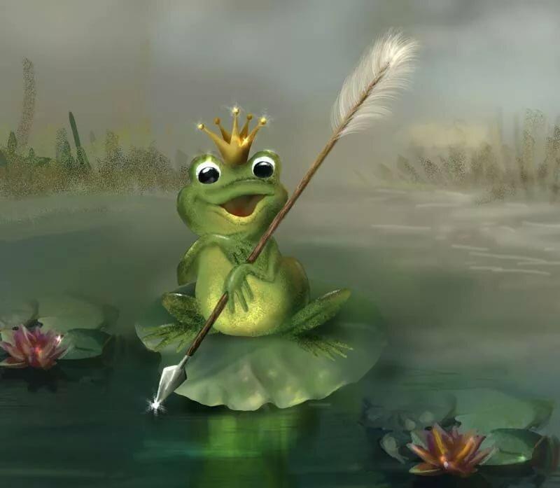 Царевна-лягушка картинки анимации, прикольные здравствуйте картинка