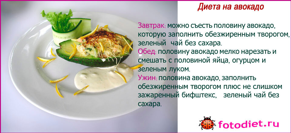 передача малышевой о похудении с помощью авокадо
