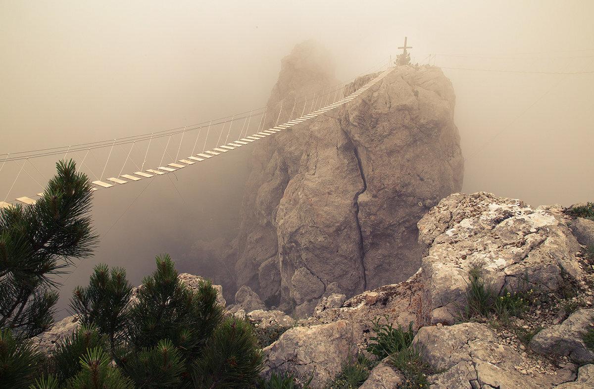Мост над пропастью картинки