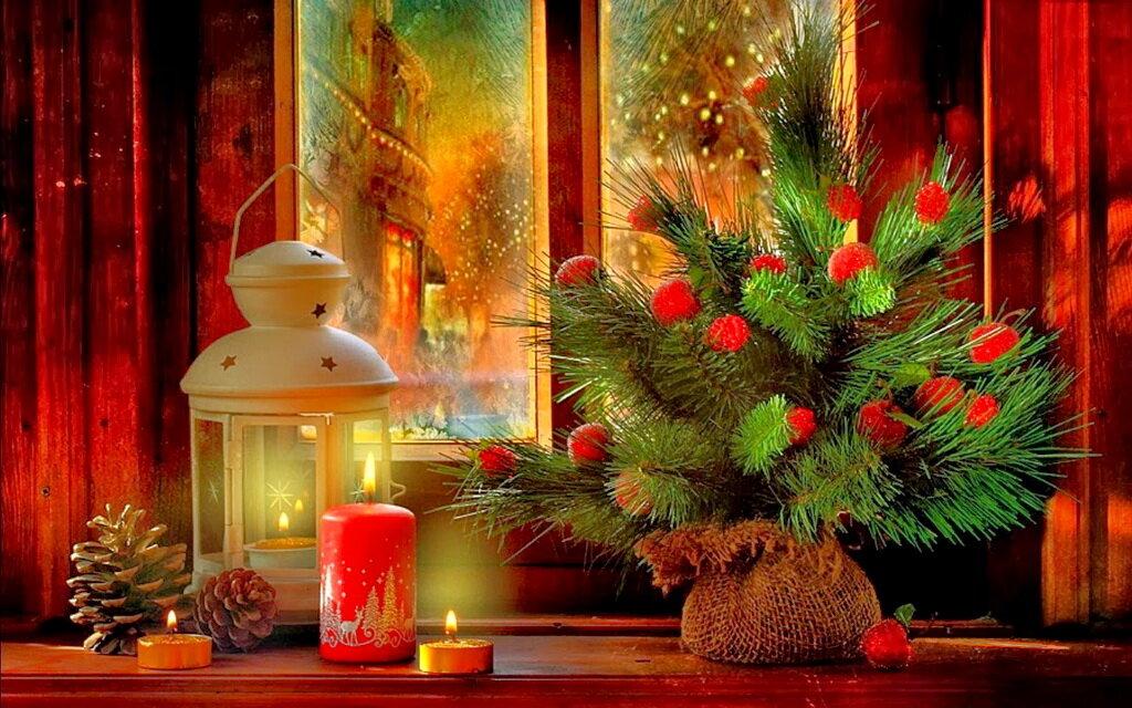 войс открытки уютного рождественского вечера это расщепление молекулы
