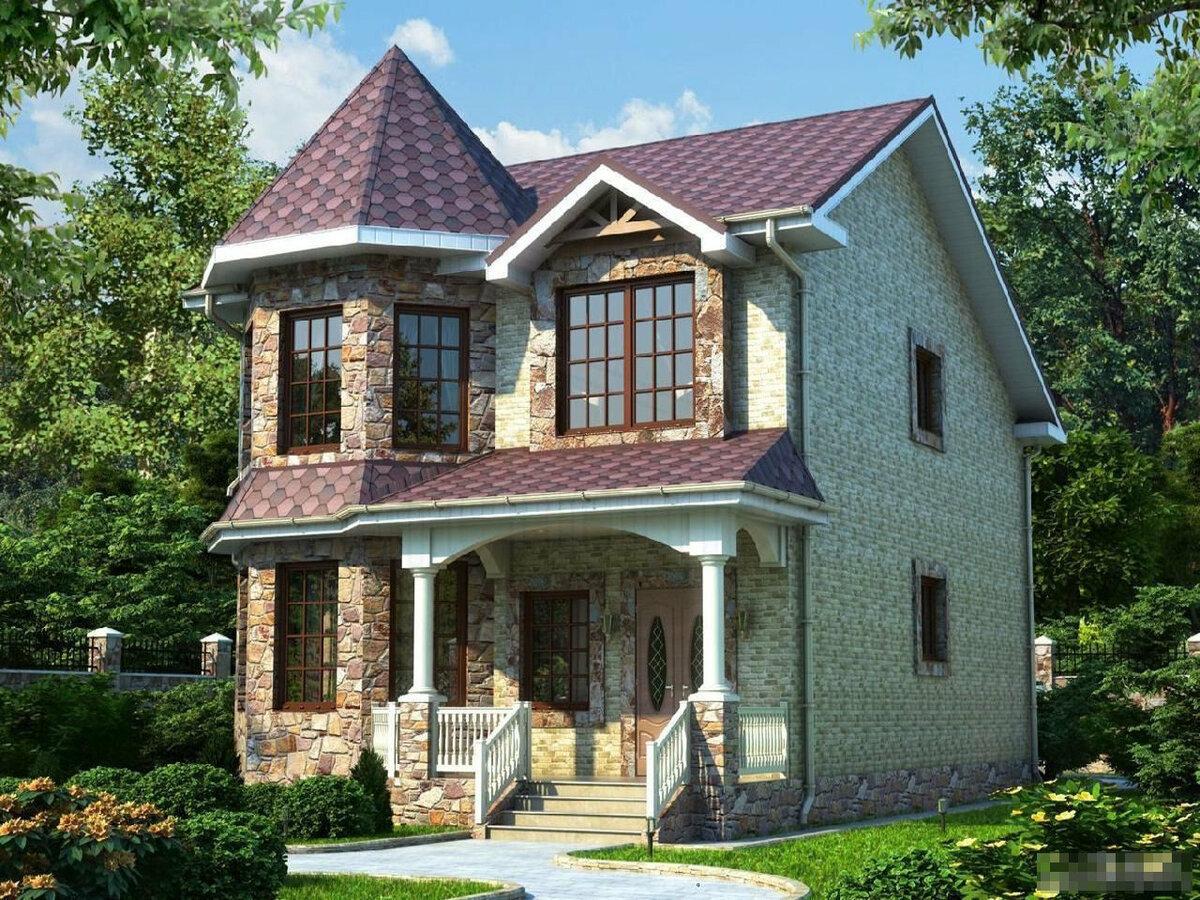 смотреть красивый дом с проектом кончил, комнате