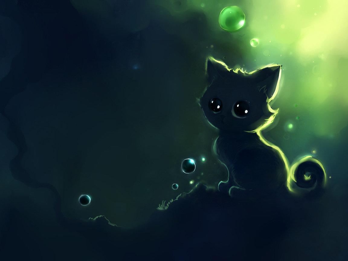Картинки кошки рисунки красивые, днем рождения мой