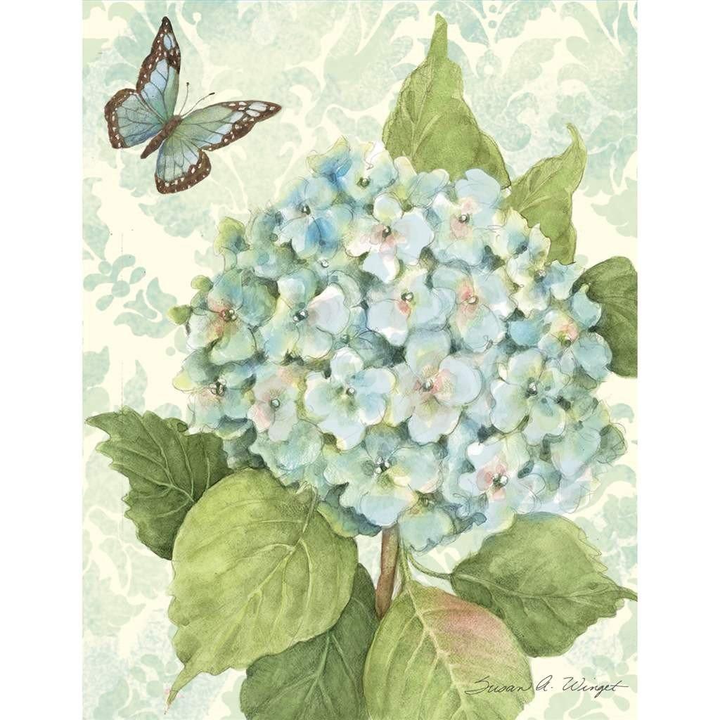 Картинки пожеланиями, открытки гортензия