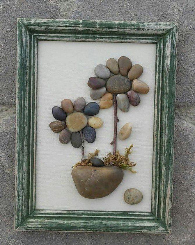 Детям года, картинки из камушек своими руками фото