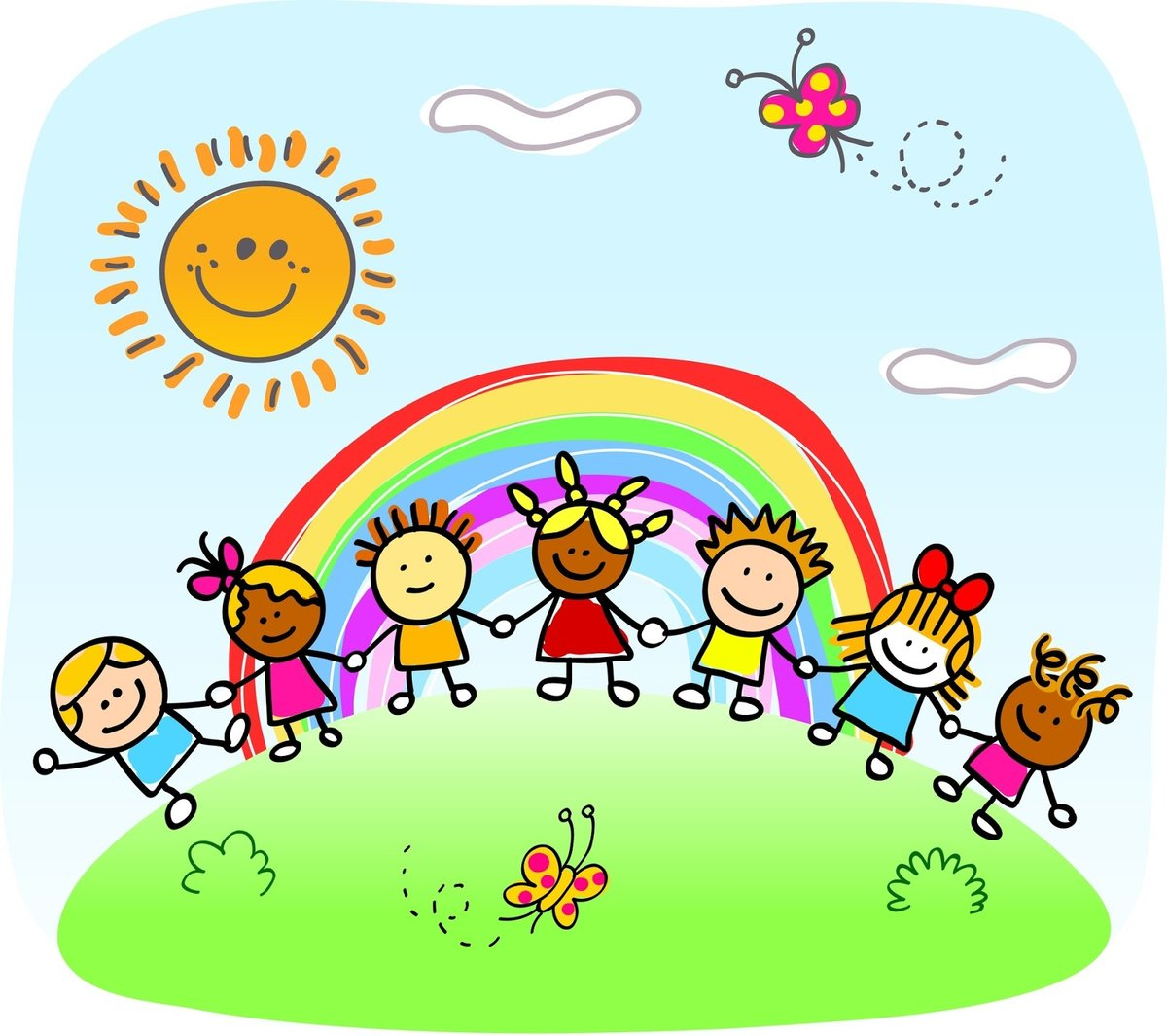 День матери, веселые картинки детский сад