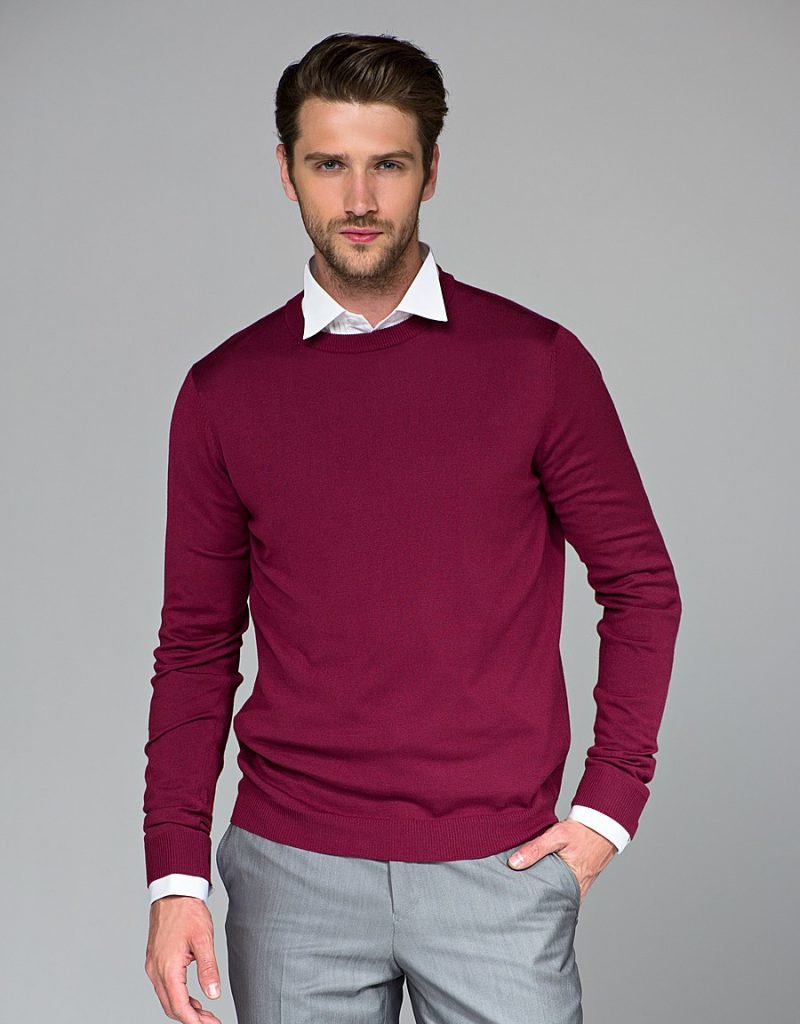 массивные, фото мода рубашки под свитера тут можно