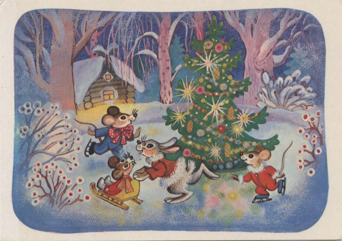 Картинка новогодняя сказка детская