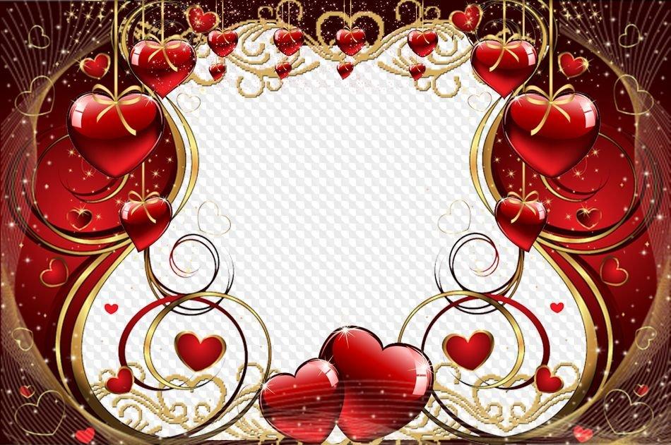 Рамки для фото ко дню святого валентина