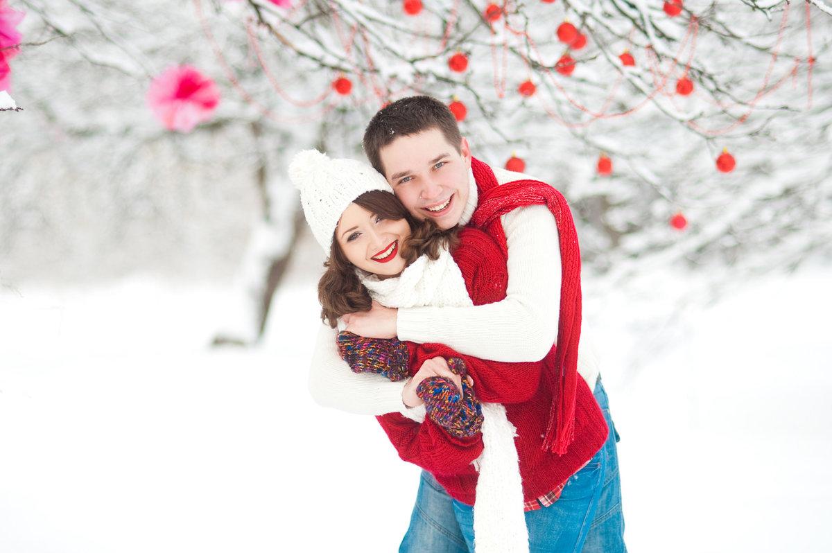 богатенькая зимние фотосессии на улице для пары снимок привел фанатов