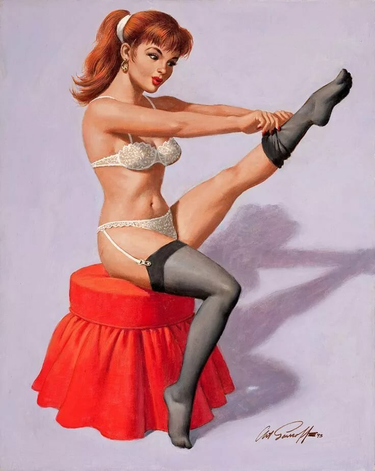Pin up girl bondage