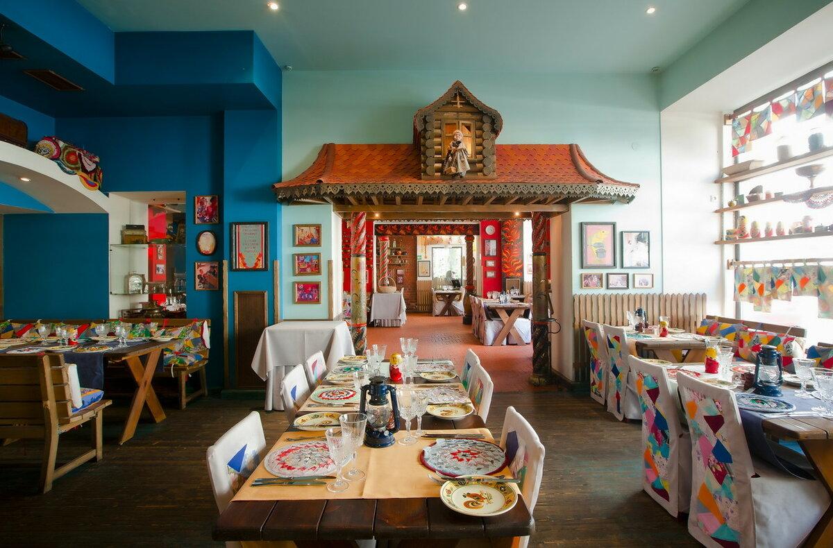 святым дизайн кафе в русско народном стиле фото растет очень