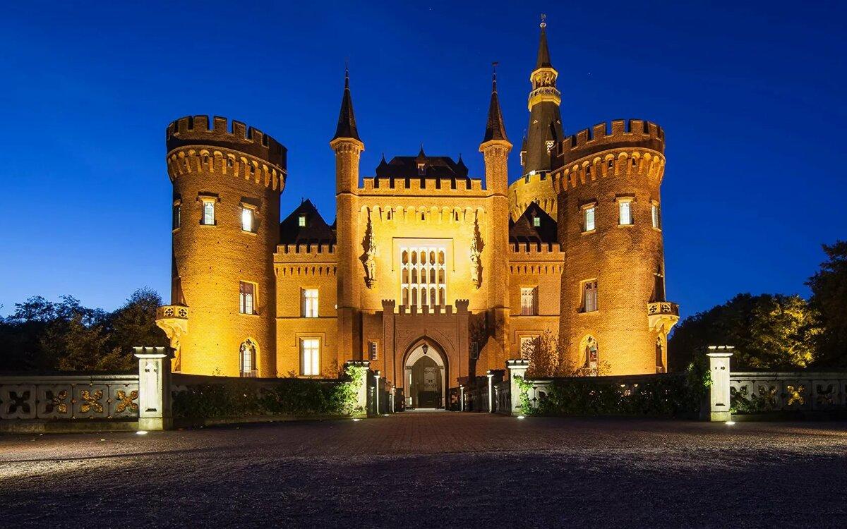 смотреть картинки красивые замки
