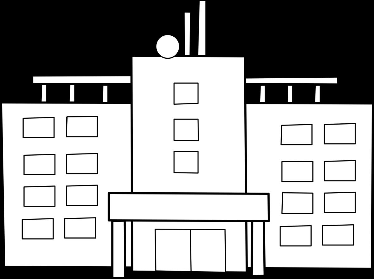 раскраска аптека здание