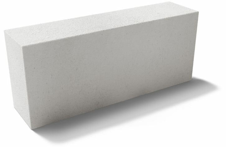 вес газосиликатного блока 600х250х100