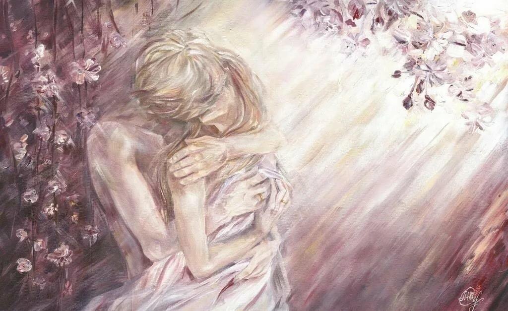Нежность в картинках любовь
