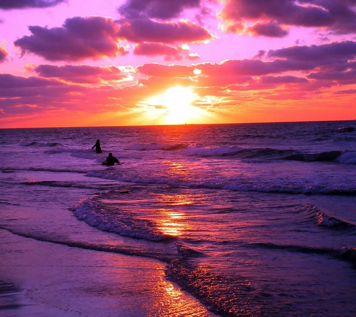 дает картинки про закат на море женщины есть лишние
