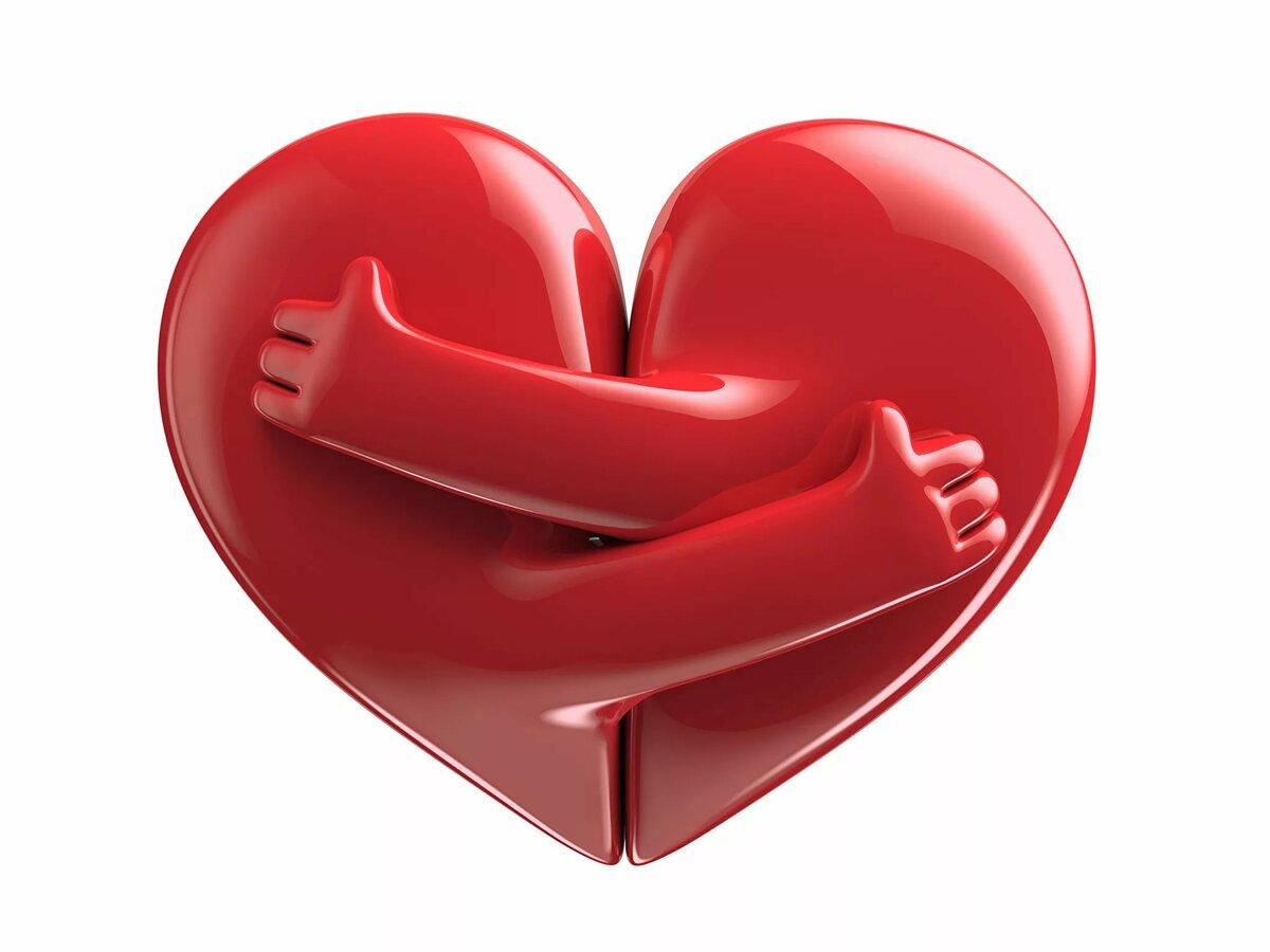 Картинки два сердечка с надписью