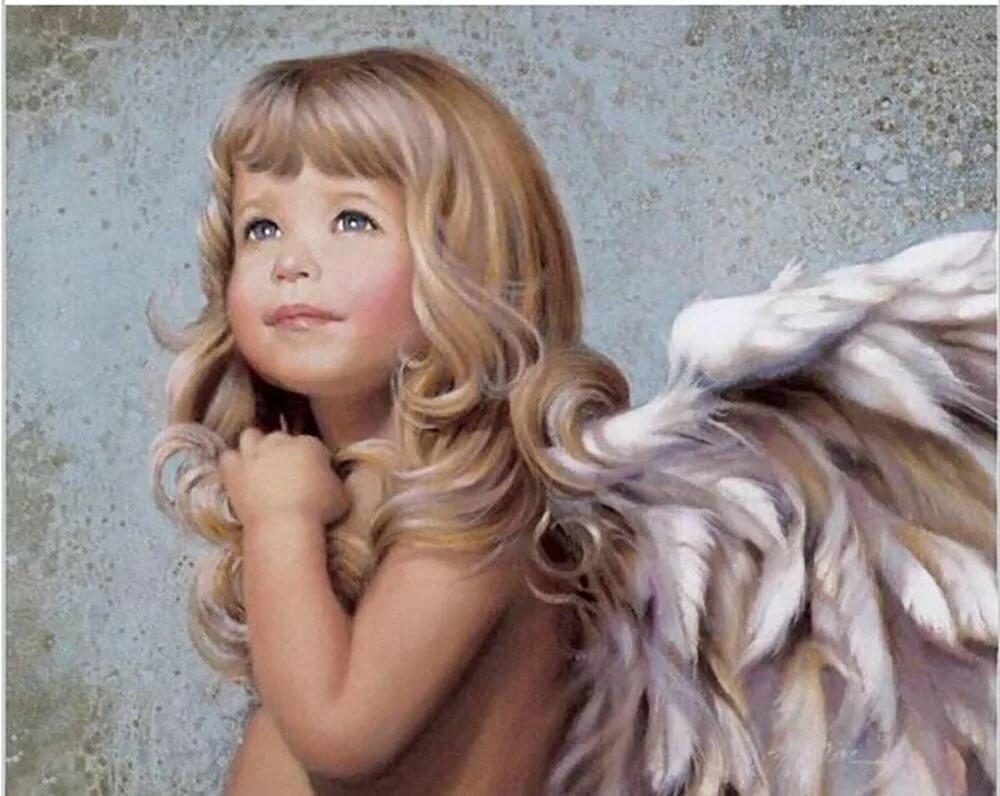 Картинки девочки ангелы