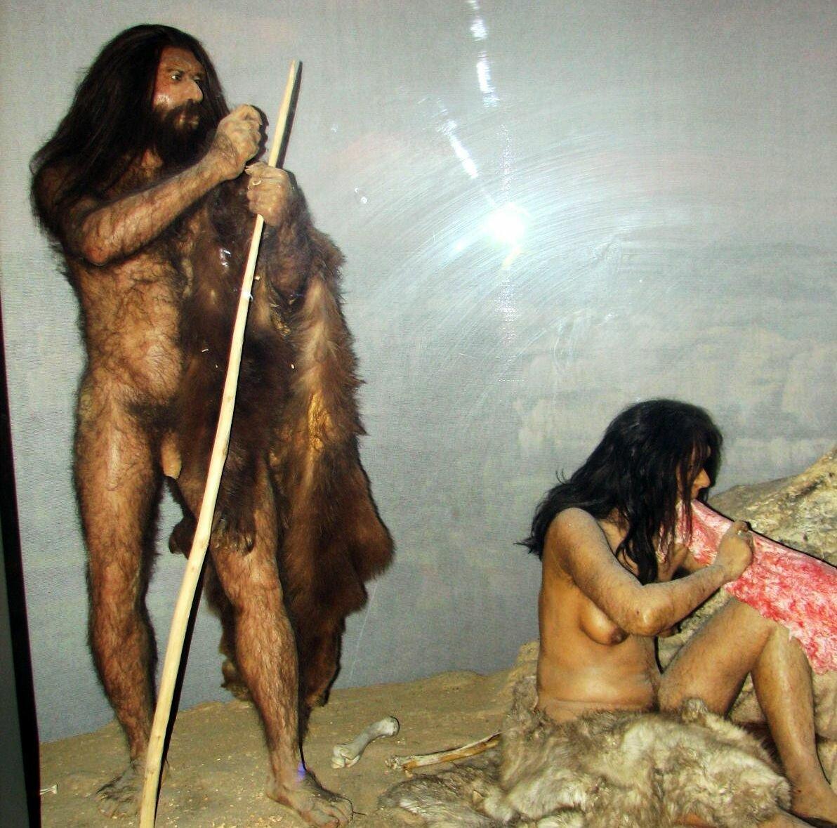Древние голые люди хорошем качественное