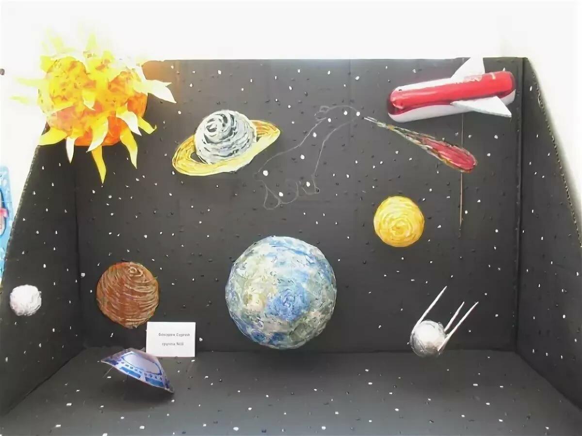 Как сделать космическую картинку