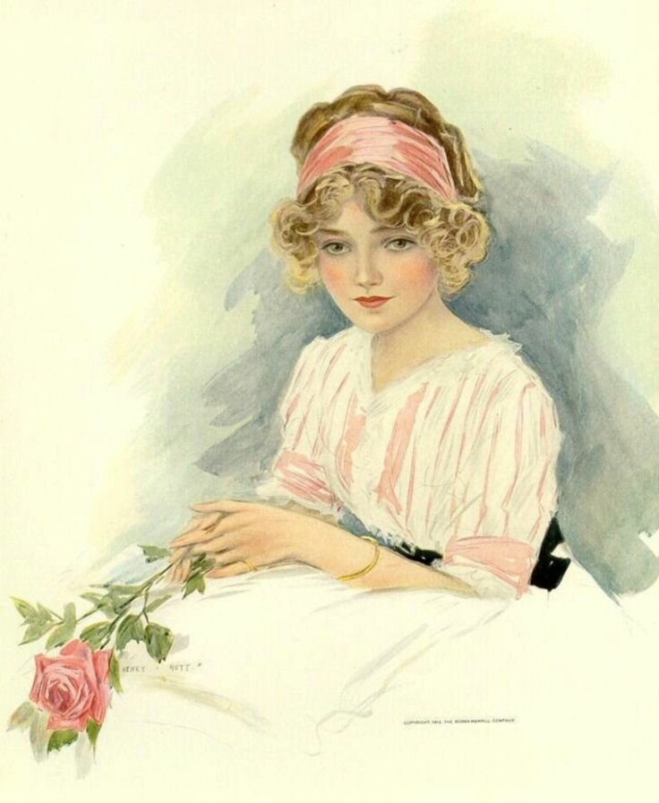Женские образы в открытках, водки картинка прикольная