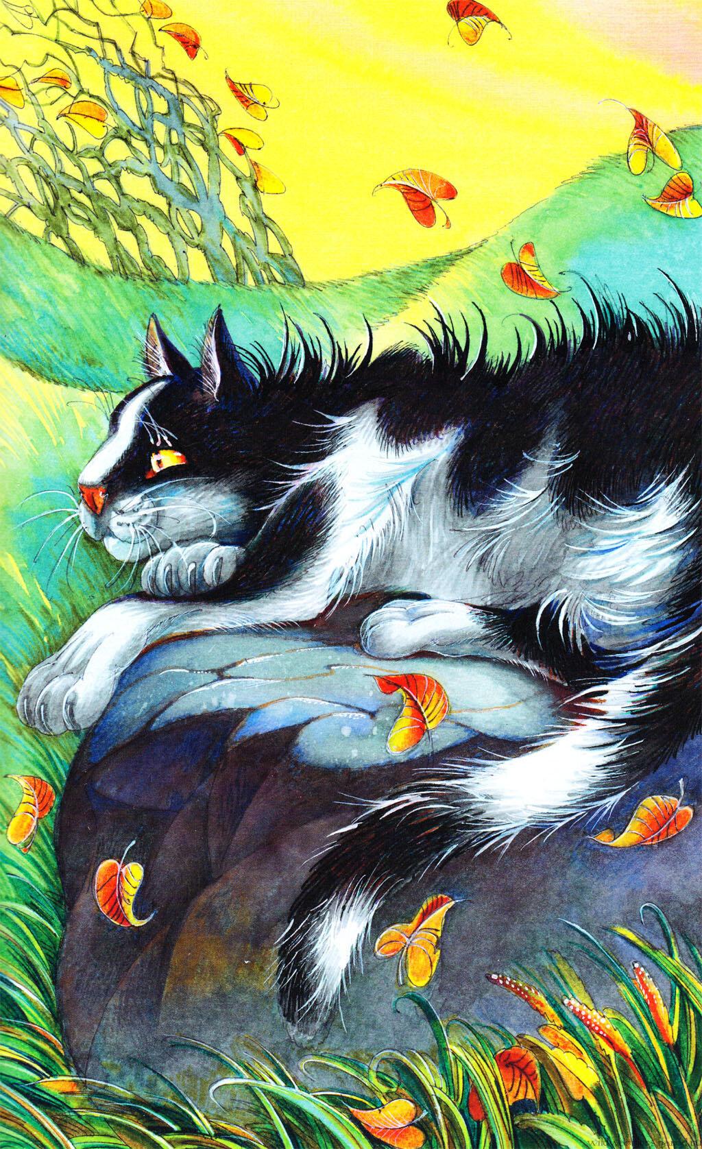 коты воители герои книг с картинками буквально ночевала
