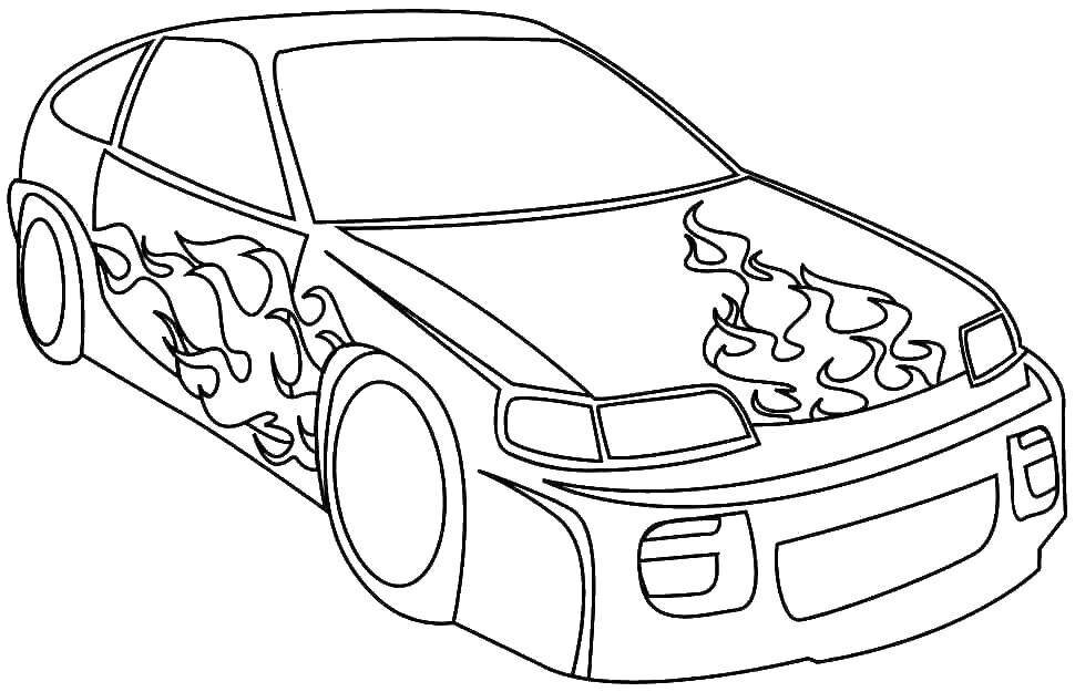 Надписью, раскраски машины крутые