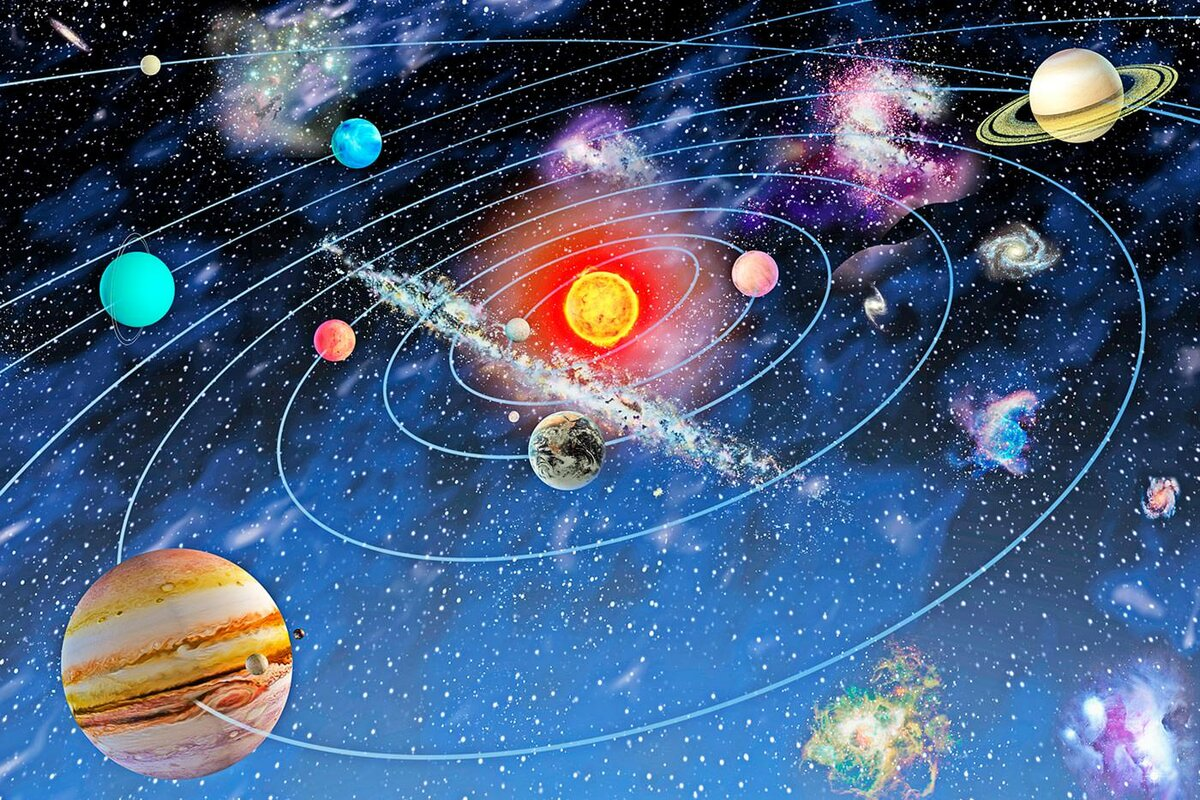 solar system images - HD1200×800
