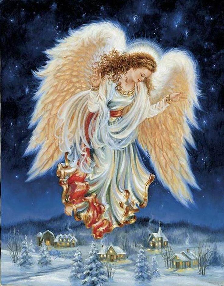 Животными, рождественские ангелы картинки красивые