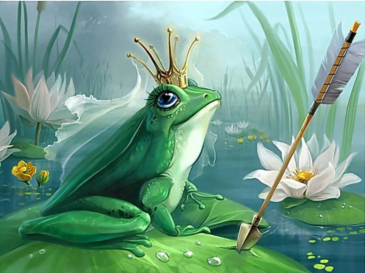 Без текста, лягушка царевна картинки к сказке