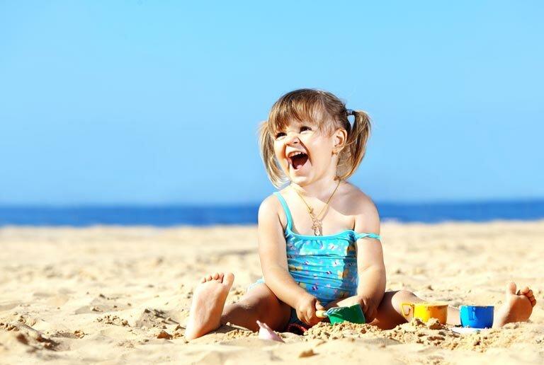 Картинки дети море и надувка