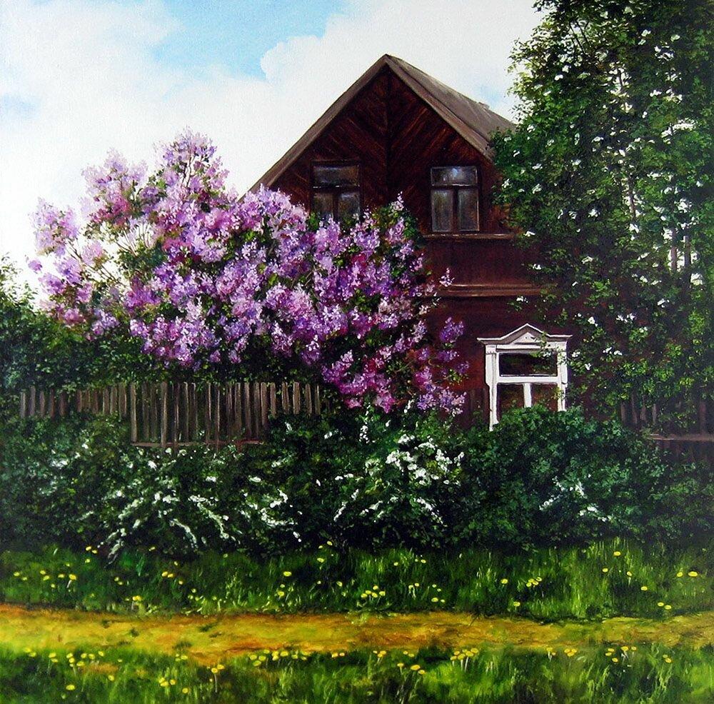 картинки цветущий сад в деревне коллекциях вышеуказанных
