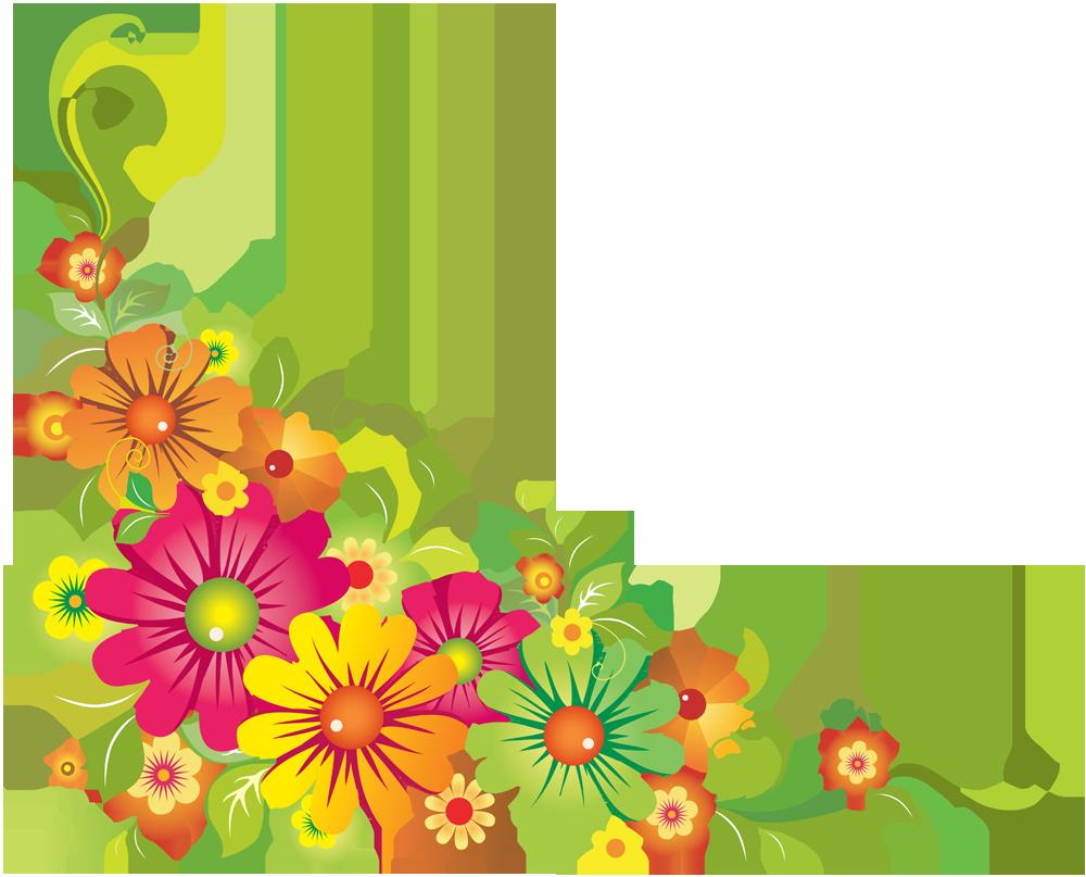 Цветы для оформления открыток, днем