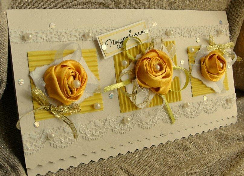 Как сделать поздравительную открытку на юбилей