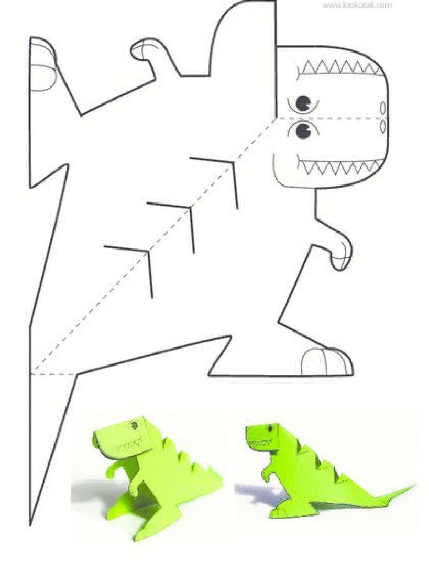 Открытка с динозавром своими руками, стихи маме