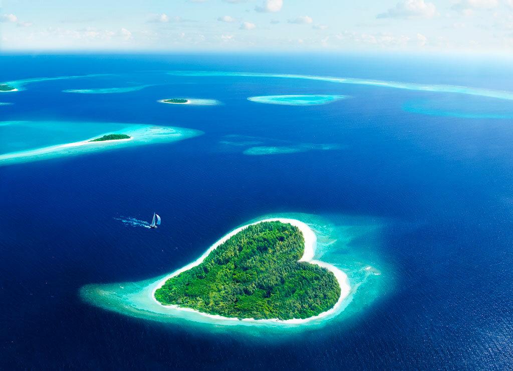 Острова мира фото и названия