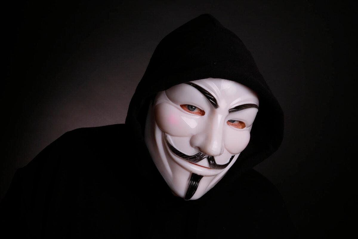 Анонимные картинки, сделать