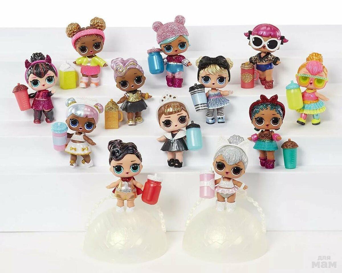 Днем, картинки коллекция куклы лол