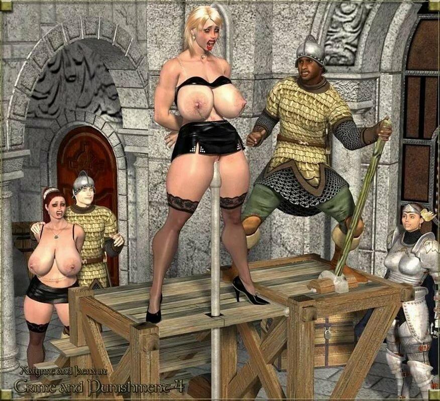Порно рабыня средневековье